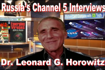 Russia's Channel 5 Interviews Dr. Leonard Horowitz On H1N1 Swine Flu and Vaccinecide