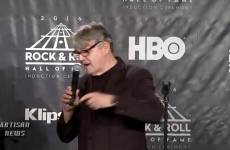 STEVE MILLER GOES OFF ON ROCK HALL AFTER INDUCTION, CHEAP TRICK DURING SPEECH - YouTube-1349DD46 thumbnail