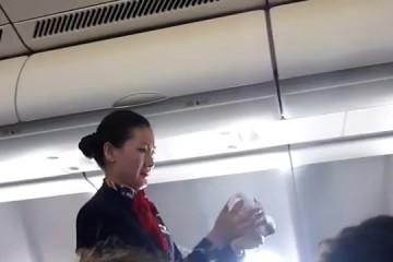Told not to film! Pesticide sprayed on passenger flight_ - YouTube [360p] thumbnail
