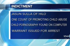 Jasun Sulla indicted on one count promoting child abuse thumbnail